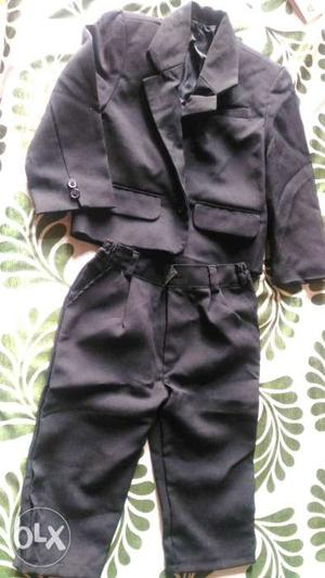 Kids blazer Suit set for 1 to 2year old kid