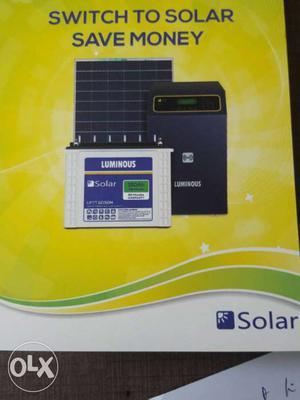 1kw Luminous Solar power system