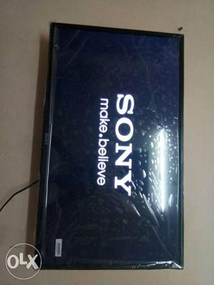 50 smart Sony panel full HD led TV Box pack with one year