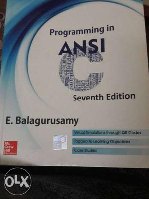 7th Edition Programming In ANSI Book