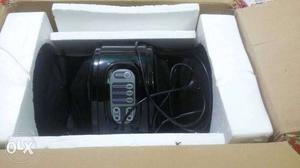Black Foot Massager With Box