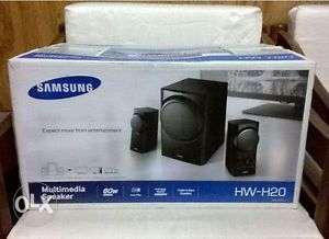 Black Samsung Multimedia Speaker Box
