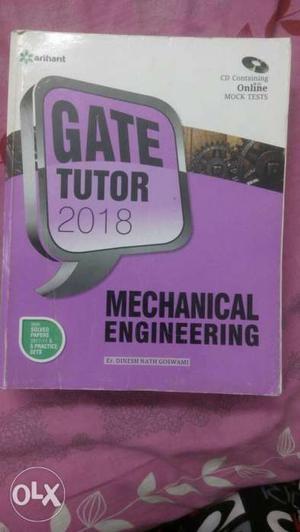 Gate tutor mechanical  with mock test CD