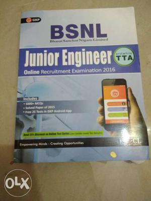 I am going sell this book BSNL JE