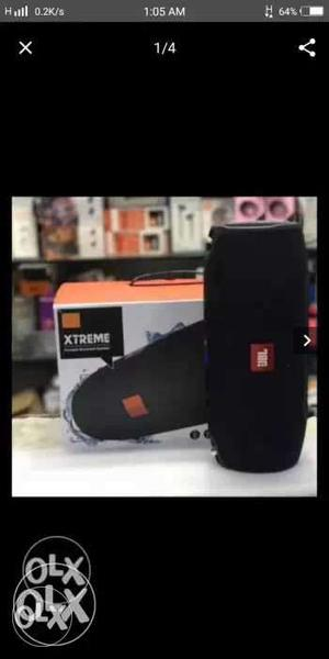 JBL Xtreme bluetooth portable speaker With Box pack