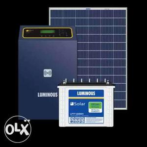 Luminous solar power system 2kw (With 3kw pcu)