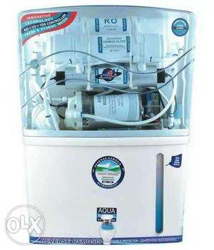 New RO water purifier RO+UV+TDS controller 1year