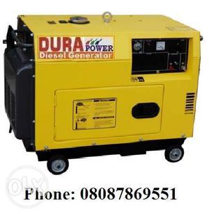 Portable & Silent Diesel Generator (3.5 Kva, 5 Kva, 7.5 Kva,