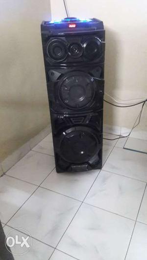 Reconnect elektra black tower speakers