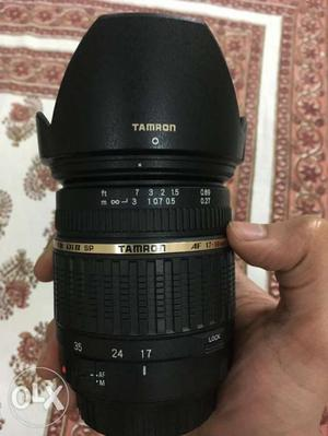 Tamron SP AF mm f/2.8 (non VC) for Canon mount.