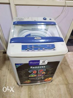 Whirlpool splash 6kg fully automatic washing machine wit
