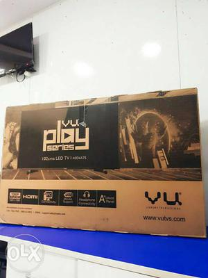 Brand new VU 40inch Full Hd Led panel Tv Box Piece with