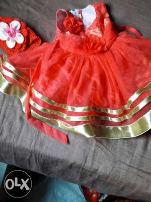 Baby girl cloths for 1 to 6mts and frock for a 1yrs