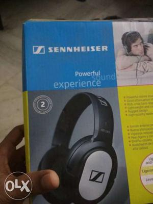 Black And Grey Sennheiser Headphones Box