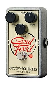 Electro-Harmon ix Soul Food Distortion/Fuz z/Overdrive Pedal