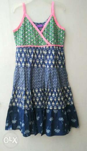 Indo western Kurti for 6-8 Year Old Girls.