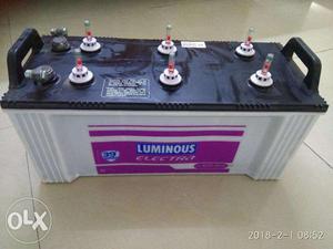 Luminous Inverter + Battery + Warranty till Dec'19 with