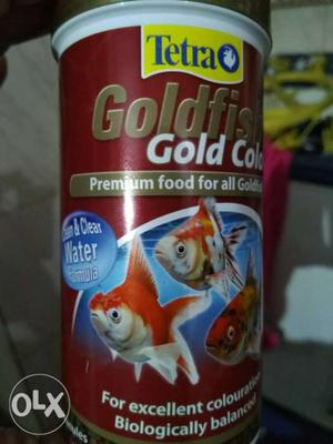 Tetra gold fish premium food 75gm/250ml