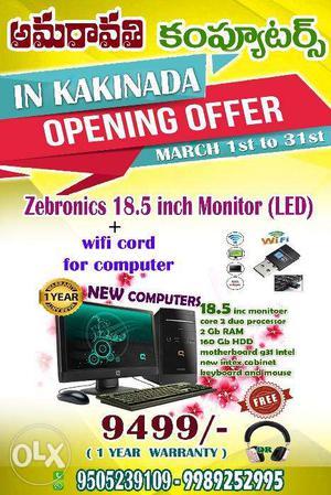 Opening offer in kakinada