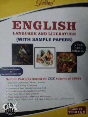 English Language And Literature Book