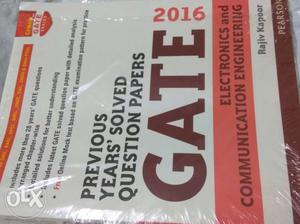 GATE Solved question Papers at your price