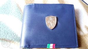 Puma ferrari edition leather wallet for men new