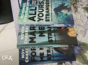 Set of three mystery thriller book series by
