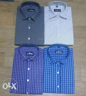 Shirt lot sell Formal shirt strip 100 colours and check 40