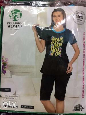 Proud to be a woman night wear