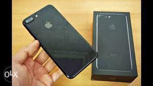 IPhone 7 Plus (32gb) jet black used one month