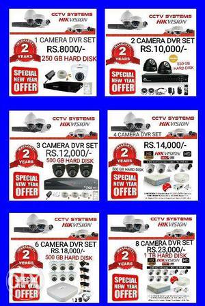 Hik Vision Hd TURBO Cctv Ir, Night Vision camera With Free
