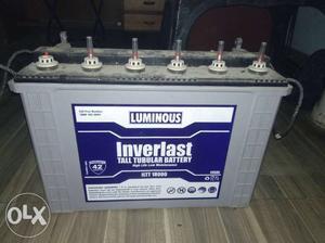 Brand New Luminous Invertor V + Battery12v