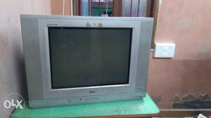 LG Gray CRT TV With Remote