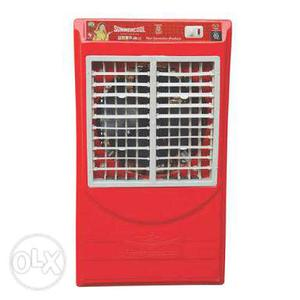 Red And Gray Evaporative Air Cooler