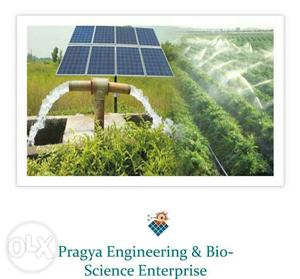 Solar for agriculture solar submersible pump