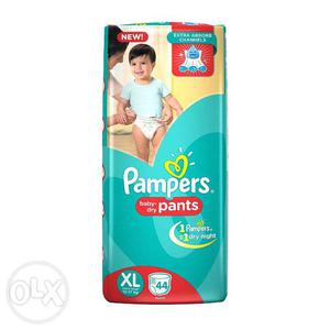 Pampers XL pants brand new for Rs. 500