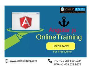 Angularjs Online Training Bangalore   EnrollNow Onlineitguru