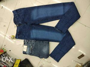Blue Denim Jeans And Pants