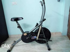 Grey And Black body flex cycling machine