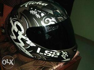LS2 helmet less used no complaints urgent sale
