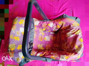 Mee Mee brand baby cradle and carrier, can also