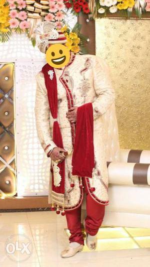 Sehra sherwani stole dulha juti kalangi | Posot Class