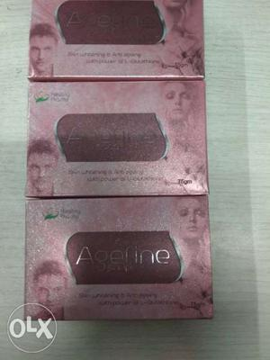 Skin whitening and anti ageing soap with added