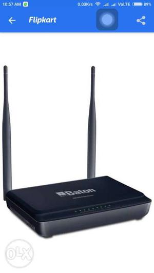 IBall mimo 300 mbps dual antena router