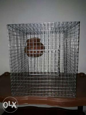 New Stainless Steel Birdcage