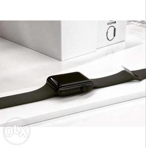 Apple watch series 3 space grey with grey sport band