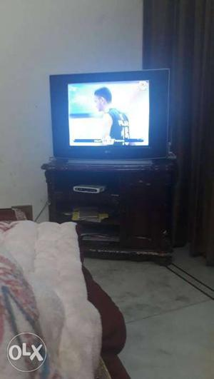 LG TV 29inc with trolly
