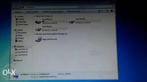 Lenovo Dual core cpu with 2 GB ram and 500 GB