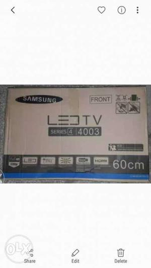 New 24 Inch Led Tv With 2 year warranty and Seal Pack