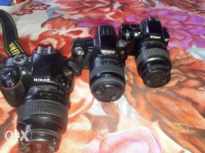 Nikon sony canon all type of dslr nd lenc